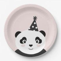 Party Like A Panda Plates