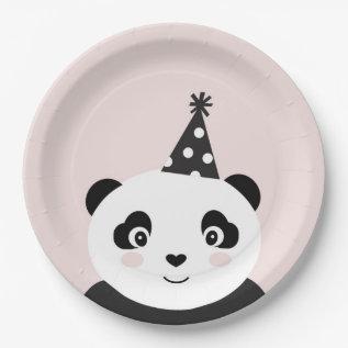 Party Like A Panda Plates at Zazzle