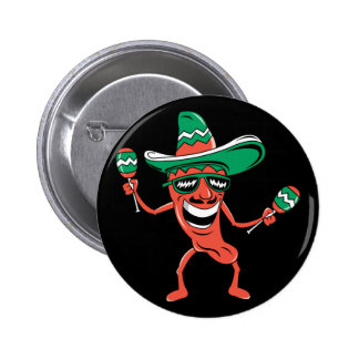 Party like a Pepper 2 Inch Round Button