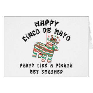 Party Like A Pinata Cinco de Mayo Card