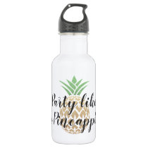 Party Like a Pineapple Water Bottle