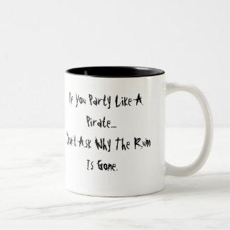 Party Like A Pirate Large Mug