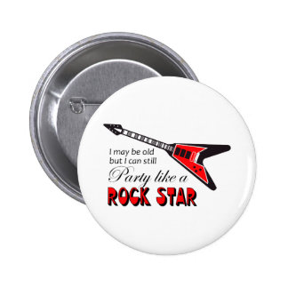 PARTY LIKE A ROCK STAR BUTTON