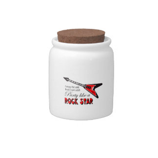 PARTY LIKE A ROCK STAR CANDY JARS