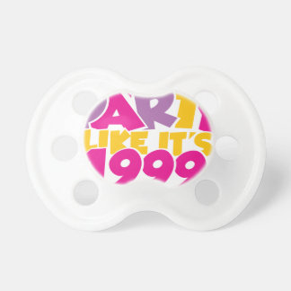 Party Like It s 1999 - Funky1 Baby Pacifier