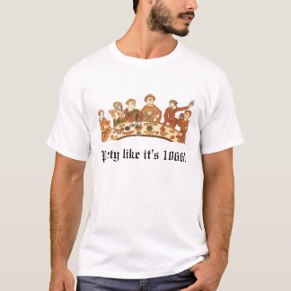 Party like it's 1066 Mens T-Shirt
