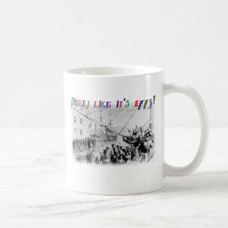 Party like it's 1773! coffee mug