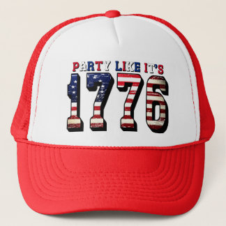 Party Like It's 1776 4th of July Hat