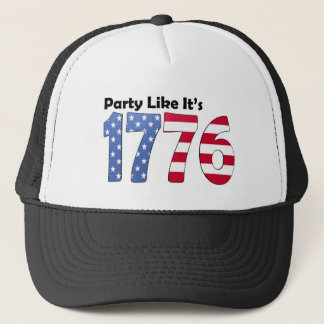 Party Like It's 1776 Flag Trucker Hat