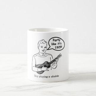 Party Like It's 1929! (Ukulele) Coffee Mug