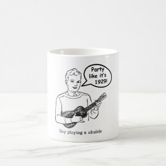 Party Like It's 1929! (Ukulele) Coffee Mugs