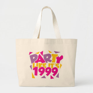 Party Like It's 1999 - Funky1 Large Tote Bag