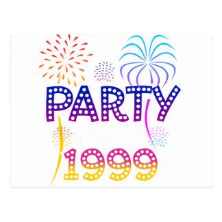 Party Like It's 1999 - Palm Postcard