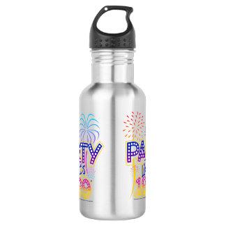 Party Like It's 1999 - Palm Tree 18oz Water Bottle