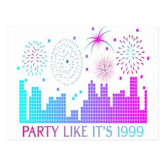 Party Like It's 1999 - Purple City Postcard
