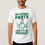 Party Like It's A Christmas Birthday Tshirt