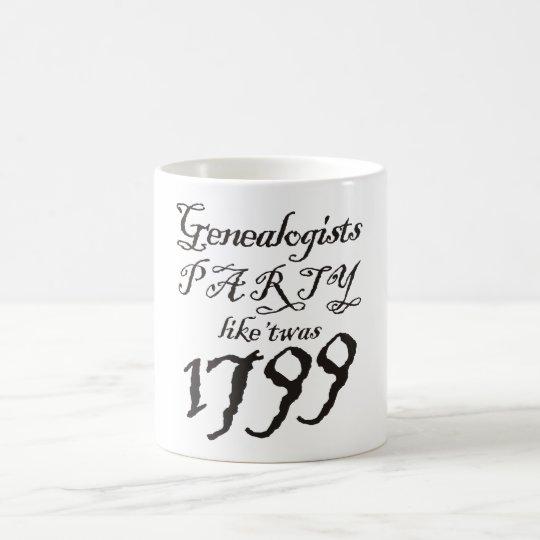 Party Like 'Twas 1799 Coffee Mug