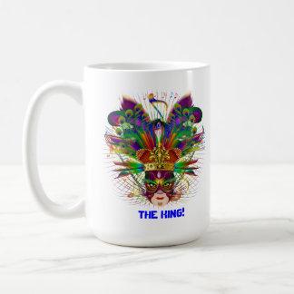 Party  Mardi Gras Theme Plse View Notes Classic White Coffee Mug