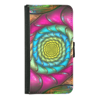 Party Melt Wallet Phone Case For Samsung Galaxy S5