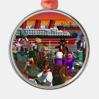 party metal ornament