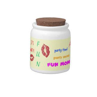 Party Money Jar Candy Jar