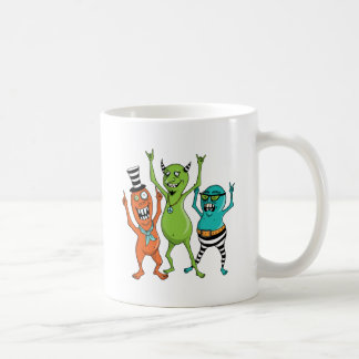 Party Monsters Classic White Coffee Mug