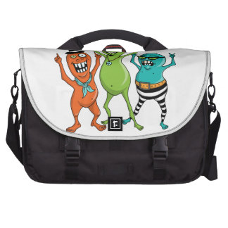 Party Monsters Laptop Bags