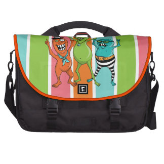 Party Monsters LOVE to Dance! Commuter Bags
