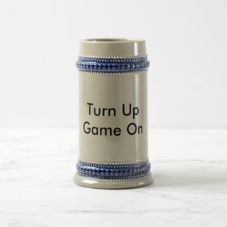 Party Mug Turn Up Game On.