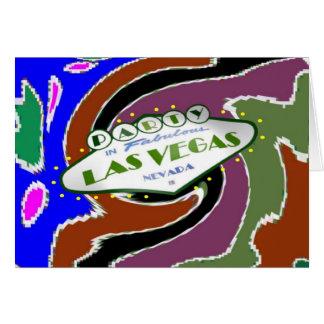 PARTY Multi-color FUN Las Vegas Card.