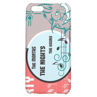 Party Music Cat Cover For iPhone 5C