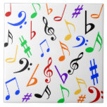 Party Music Tile - Large