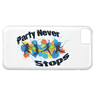 Party Never Stops iPhone 5C Case