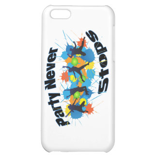 Party Never Stops iPhone 5C Cases