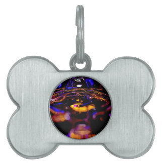 Party Night Pet ID Tag