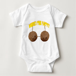 party nuts baby bodysuit