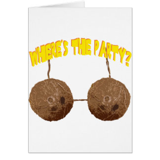 party nuts card