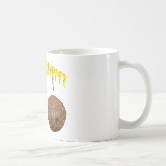 party nuts classic white coffee mug