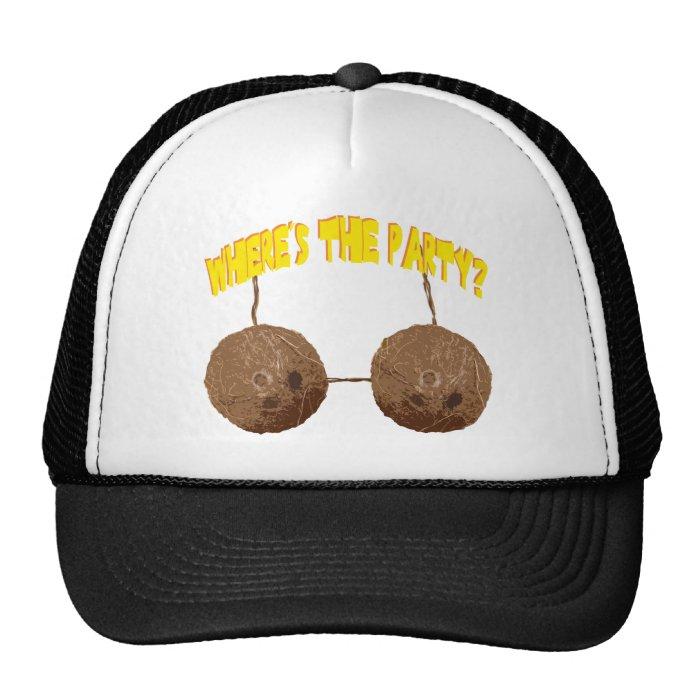 party nuts trucker hat