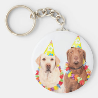 Party of Anniversary of the Cachorros Keychain