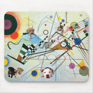 Party of Composition VIII Mouse Pad