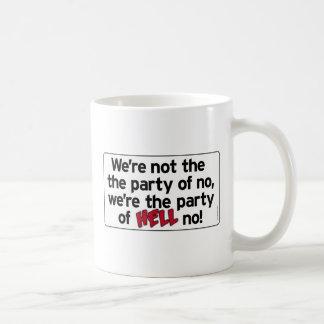 Party of HELL No! drinkware Coffee Mug