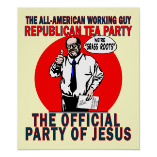 Party of Jesus Poster