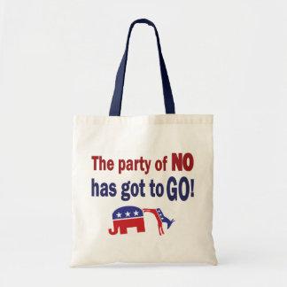 Party of No Tote Bag