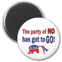 Party of No Magnet