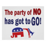 Party of No Poster
