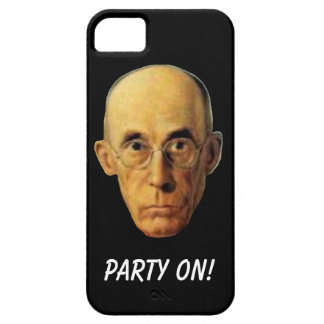 Party On Nerdy Guy Funny Cell Phone Case