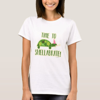 Party On Time to Shellabrate T-Shirt