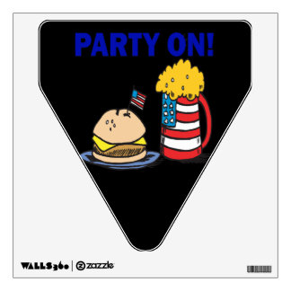 Party On Wall Sticker
