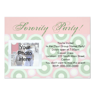 Party or Rush Invitation
